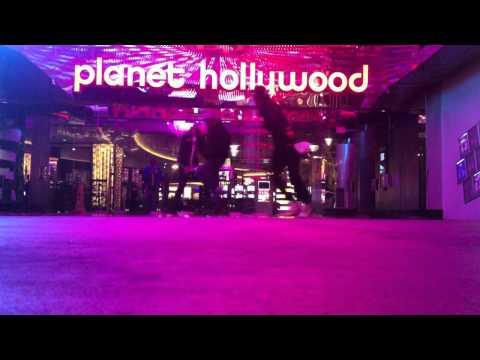 Mansour & Les Twins MJ immortal world tour trip Vegas dec 2011