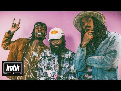 "Flatbush Zombies on ""Vacation In Hell,"" Being Leaders Not Followers & More (HNHH Interview 2018)"