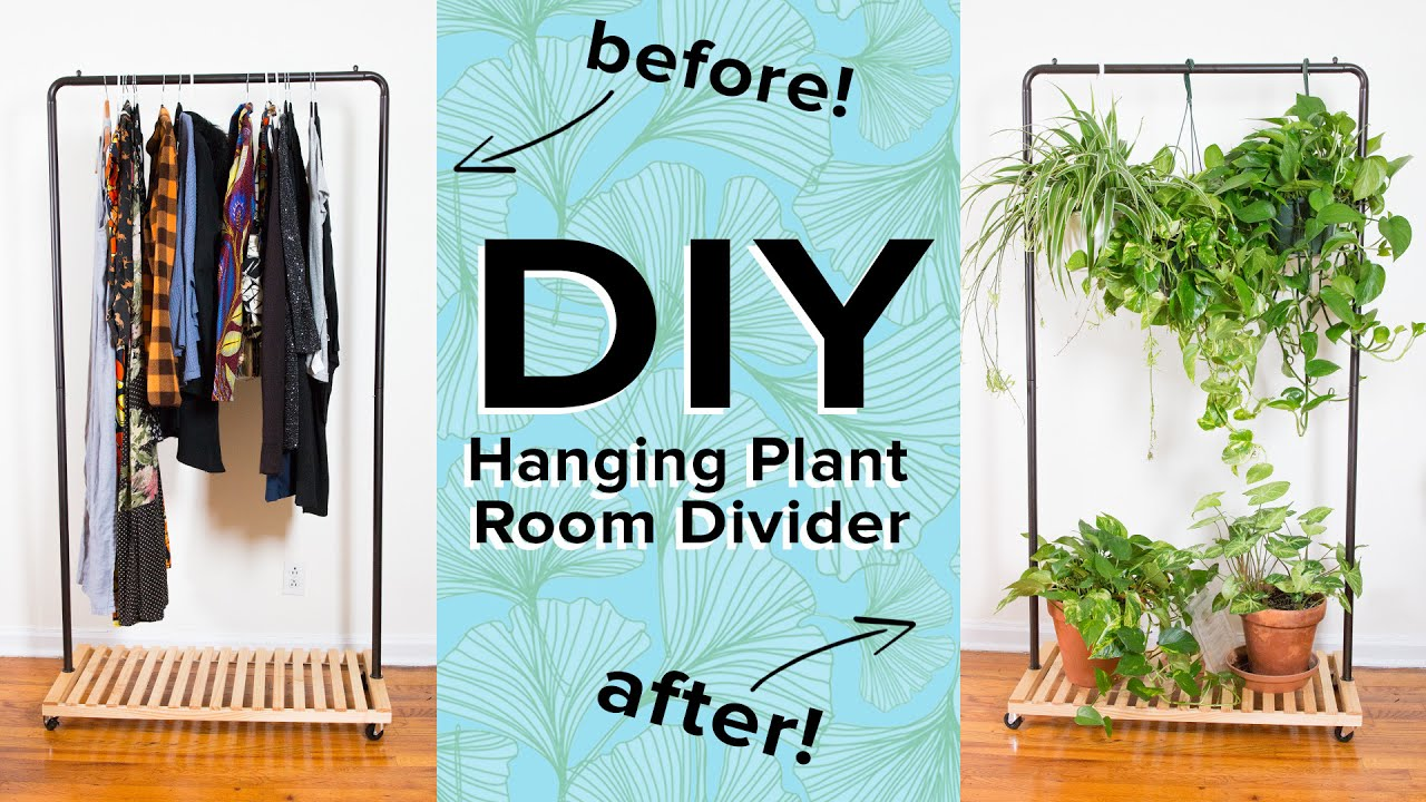 hanging plant room divider - youtube