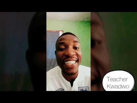 Teacher Kwadwo settles beef between Manasseh Azure and Nana Kwame.😂😂😂