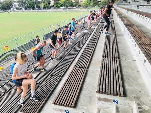 Outdoor Group Training Session In Sydney, Australia