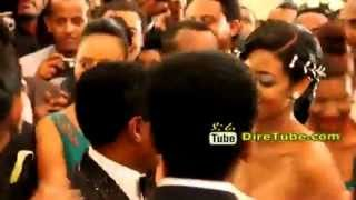 TSEGAYE ESHETU SING AT TEDDY AFRO'S  WEDDING AT HILTON HOTEL