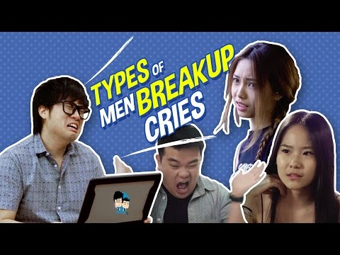 Men Breakup Cries (Relationship Fails) - JinnyboyTV