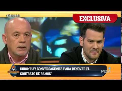 """Duro: """"Hay conversaciones para renovar el contrato de Sergio Ramos"""""""