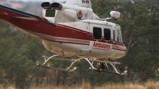 Bendigo rescue crews free lady from truck crash in Ravenswood 25/02/2013