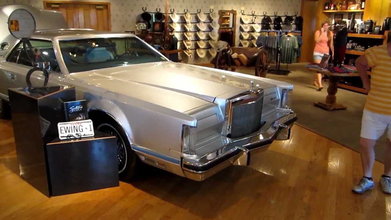 jock ewing 39 s car from dallas youtube. Black Bedroom Furniture Sets. Home Design Ideas