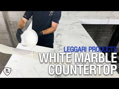 Faux White Marble Using Epoxy | Kit 1