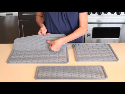 oxo good grips wine glass silicone drying mat 1372100