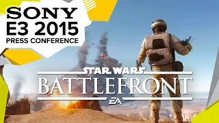 Star Wars Battlefront Survival Mode Gameplay  - E3 2015 Sony Press Conference