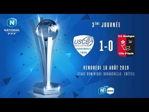 J3 : US Créteil Lusitanos - US Boulogne CO (1-0), le résumé