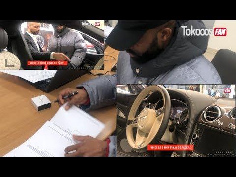 Fally Ipupa, l'intégralité de l'achat de sa nouvelle voiture, dans les Bureaux de Bentley