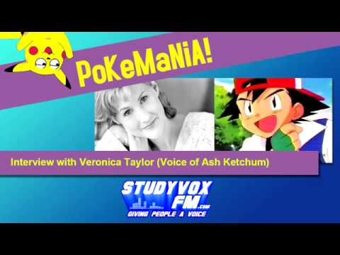 Veronica Taylor Interview Voice of Ash Ketchum