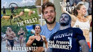THE 2017 CROSSFIT GAMES: MY OPINION (Fails, Mat Fraser, Best events?)