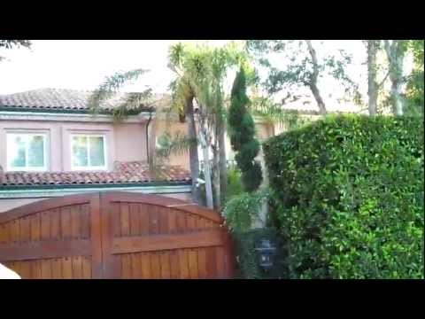 Tour of Celebrity Homes By Star Driveways 8/3/11