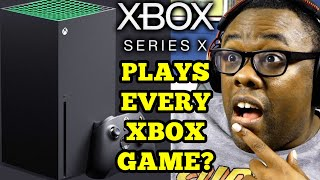 XBOX SERIES X Plays EVERY Xbox Game EVER? | Black Nerd Reaction