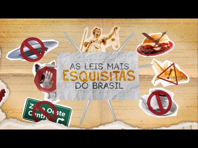 Câmera Record revela quais são as leis mais estranhas do Brasil