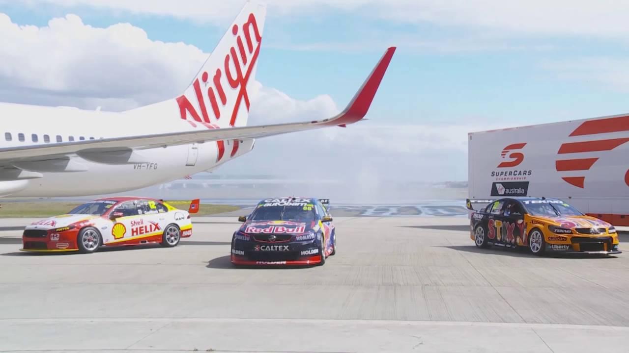 Virgin Australia Supercars Championship launches - YouTube on youtube basketball, youtube football, youtube trophy,