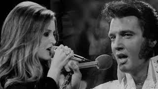 In The Ghetto   Elvis Presley  With Lisa Marie Presley