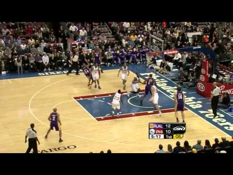 Spencer Hawes' Tremendous Passing Skills (Philly Era)