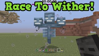 Minecraft Xbox - Wither Speedrun LIVE (Race To The Wither)