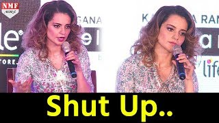 Kangana gets ANGRY on REPORTER when asked about...