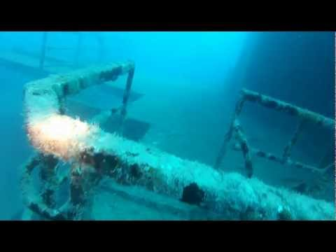 Diving the USS Vandenberg (Dive1) 7/14/12 Full Dive 1080p HD