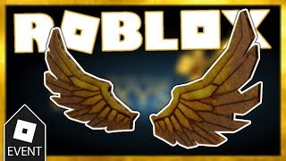 [EVENT] How To Get DIY GOLDEN BLOXY WINGS IN ROBLOX - Roblox