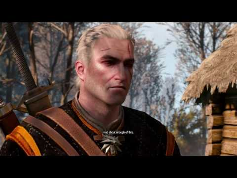 The Witcher 3 Angry Geralt