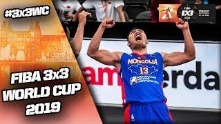 Estonia v Mongolia | Men's Full Game | FIBA 3x3 World Cup 2019