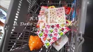 Haul + Vlog ft Daiso , Tokyu Hands