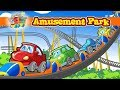 """Amusement Park"" @ ""Mr.Wheeler&Friends"" CARtoons for Kids"