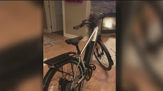 Pinellas County disabled veteran searching for stolen electric hybrid bike