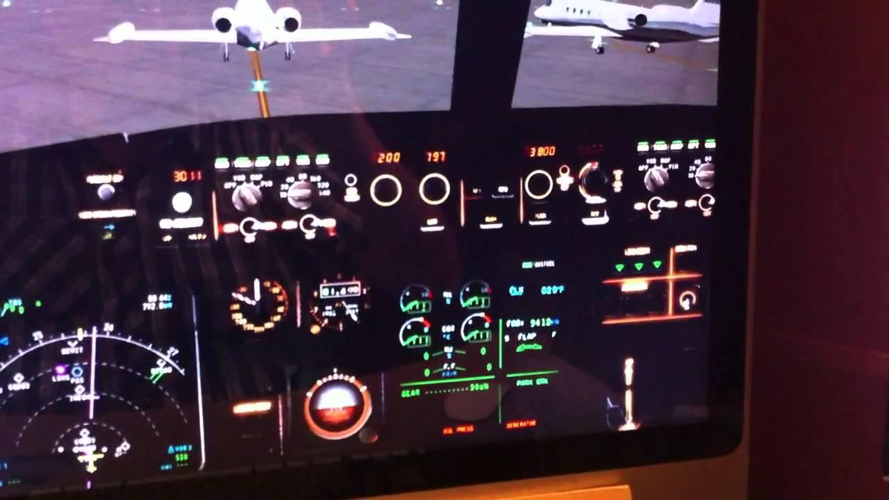 Home cockpit plane arduino youtube