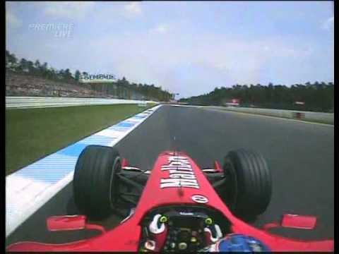 F1 Onboard Races  F1 2004  R12  German Grand Prix