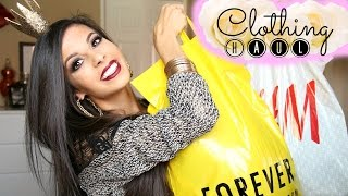 Fall / Winter Clothing Haul 2014 ♡ Forever 21, H&M, Target