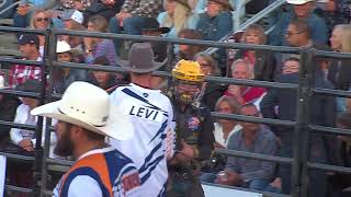 Matt Triplett rides Black Bath for 87 points (PBR)