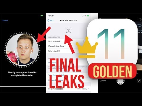FINAL IOS 11 GM LEAKS  - iPhone X & 8 / FaceID, Camera,Player Demo & MORE
