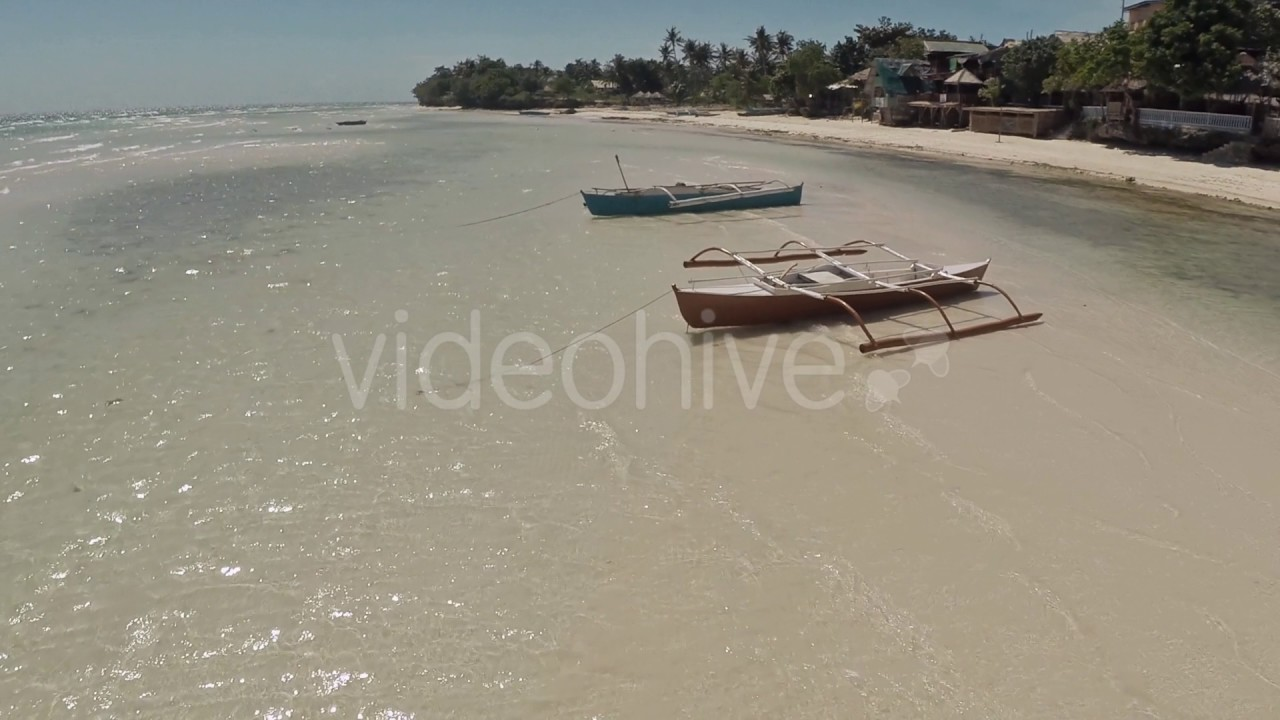 Fishing Boat Aerial View Philippines Anda City Youtube