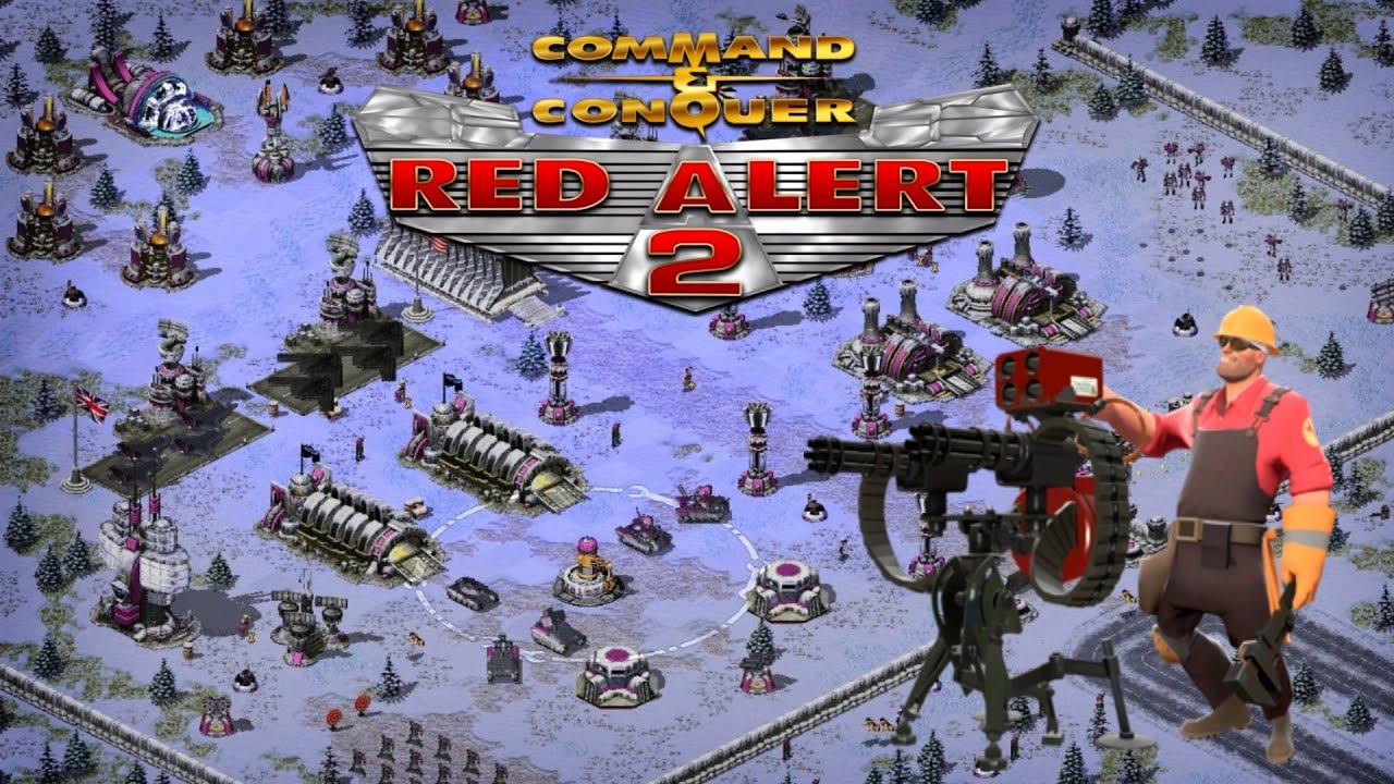 C&C: Red Alert 2 | Engineers attack