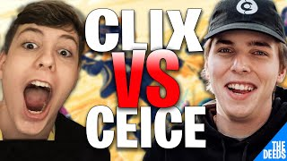 NRG Clix Gets Toxic In This 1 VS 1 100T Ceice | Creative 1v1 *NRG VS 100T*