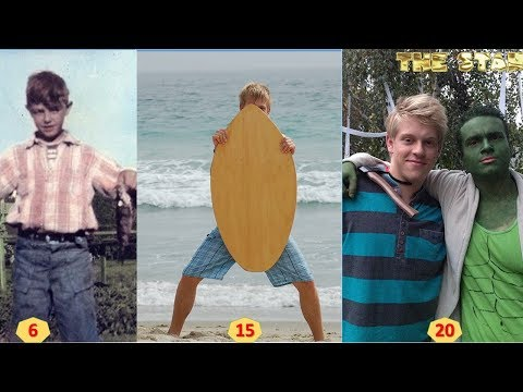 Jackson Odell  From 6 to 20 Years Old  Transformation Through The Years