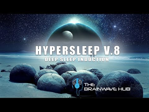 Hypersleep #8 - Deep Sleep Induction with Isochronic Tones - Delta Waves