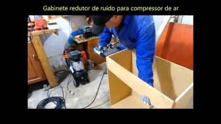 gabinete anti rudo para compressor de ar air compressor noise isolation box vdeo 01