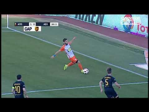 Βίντεο αγώνα: ΑΠΟΕΛ 4-0 ΑΕΛ (10η αγωνιστική, Β' φάση, #32)