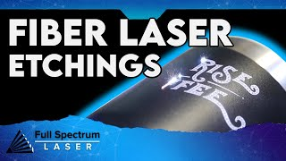 Full Spectrum Laser Fiber Laser Markings