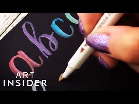 Metallic Pens Make Your Writing Pop