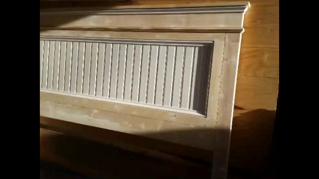 Fancy Farmhouse King Size Bed Build Ana White Design Youtube