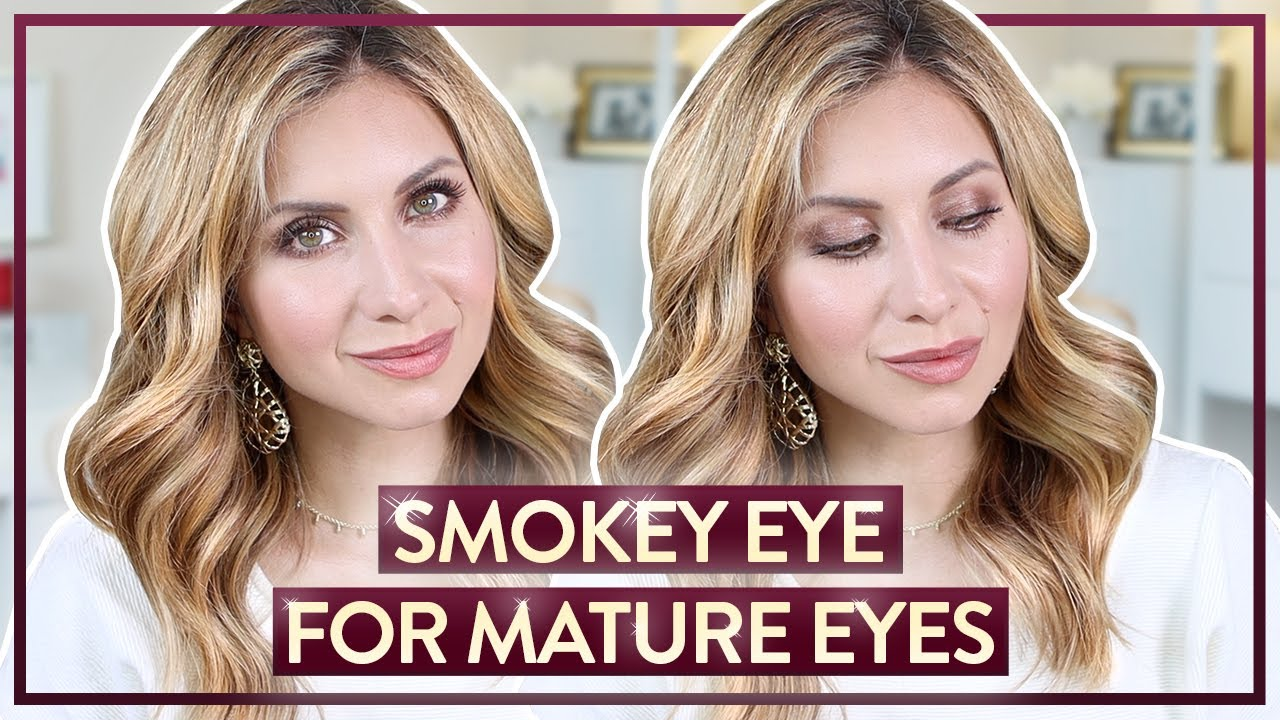 Soft Smokey Eye Makeup for Mature Skin