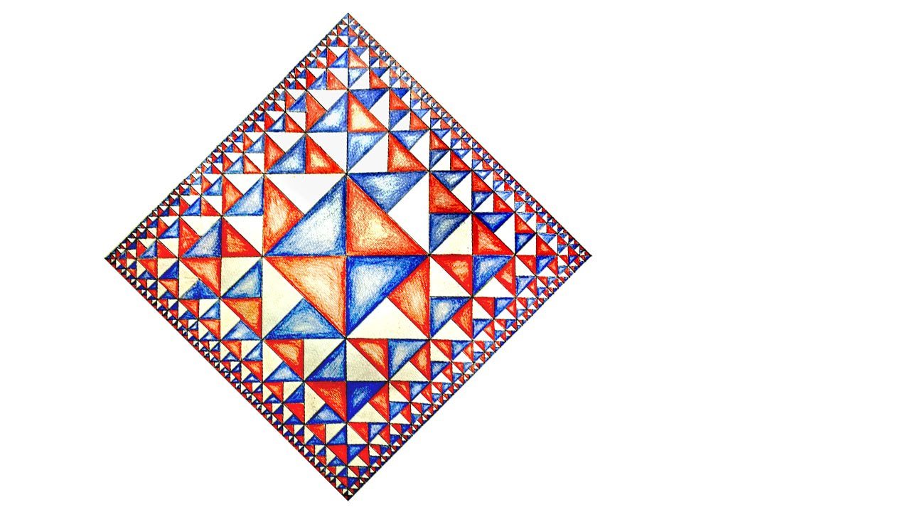 How To Draw Geometric Pattern Of Squares With Infinite ...