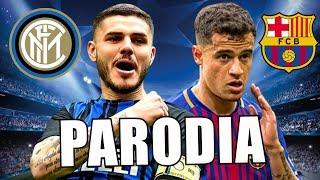 Canción Barcelona vs Inter Milan 2-0 (Parodia Mia Bad Bunny ft. Drake)